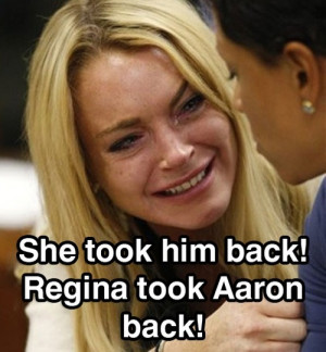... , leave her alone, lindsay lohan, mean girls, movie, quote, stupid