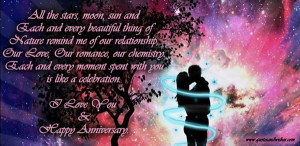 Love now,tomorrow and today ~ Anniversary Quote