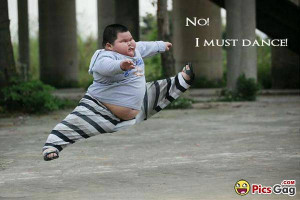 Fat Boy Funny Dance