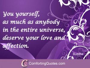 Buddhist Love Quotation