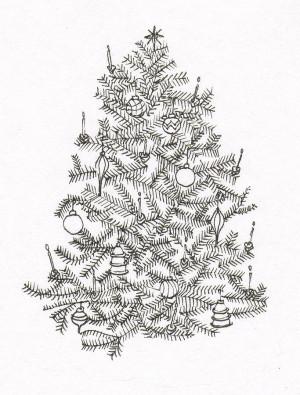 Christmas Tree Drawing quotes WHTVVseQ