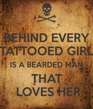 Beards And Tattoos Quotes Beards and tattoos