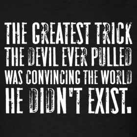 Design ~ The Usual Suspects - The Greatest Trick the Devil Ever Pulled
