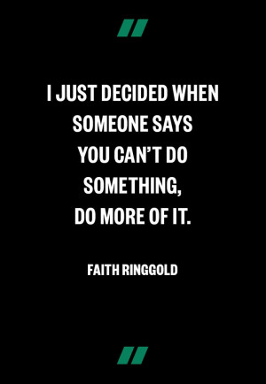 Faith Ringgold http://www.makers.com/faith-ringgold