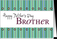 happy father's day brother card - Product #206053