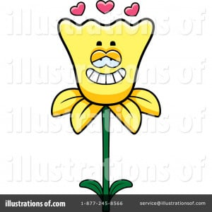 daffodil clipart illustration by cory thoman stock sample 1098263
