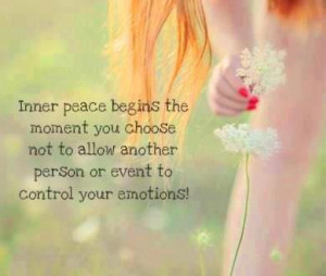 Inner peace begins....