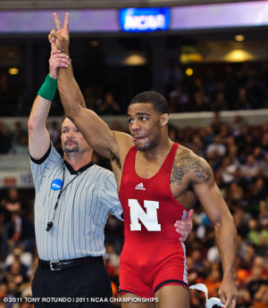 Jordan Burroughs One Of The Guests On Mat Wednesday Credit picture
