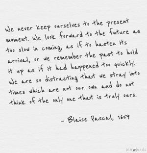 Blaise Pascal, 'Pensées,' #80
