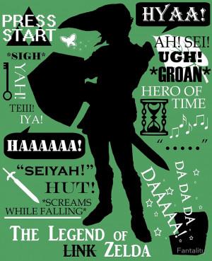 Fantality › Portfolio › Legend of Zelda - Link
