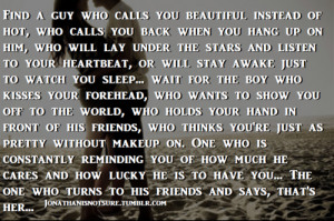 Love Quotes About Waiting For The Right Guy #1