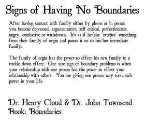 No Boundaries ::::: #quotes, #boundaries, #family, # ...
