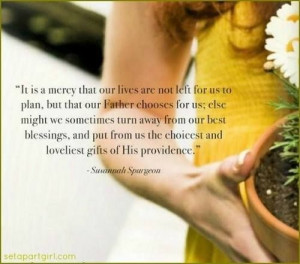 Quote from Susannah Spurgeon