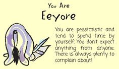 Eeyore Quotes | feeling very self-conscious about not having my tail ...