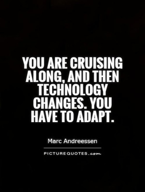 Technology Change Quote