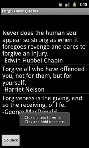 Forgiveness Quotes #2 | Quotes Picture