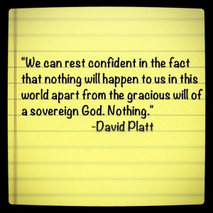David Platt quote from 'Radical'