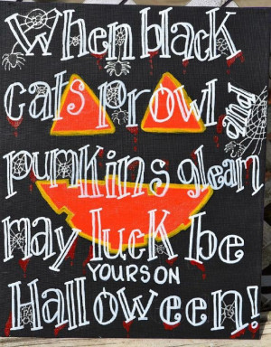 Halloween quotes, best, sayings, black cats