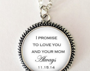 ON SALE Daughter of the Bride gift from Groom -