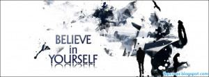 Belive, in yourself, quote, facebook, cover, fb, timeline, fbpcover