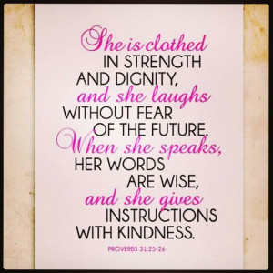 Proverbs 31 woman quote framed on wall