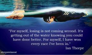 Team Ideas, Thorpe Quotes, History Swimming, Swim Quotes, Invest Ideas ...