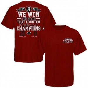 Alabama Crimson Tide 2011 BCS National Champions