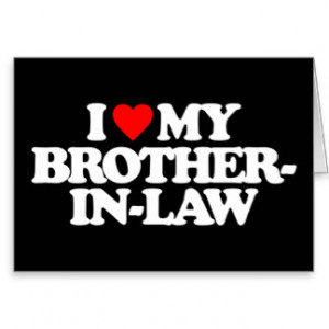 Brother In Law Cards & More