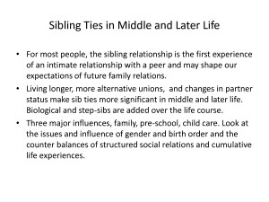 Sibling Relationships by gjjur4356