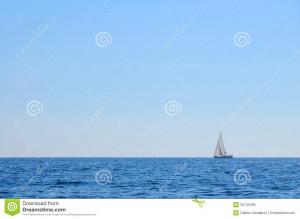 Sailboat Sea Sky Picture