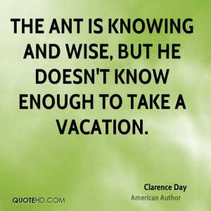 Clarence Day Quotes