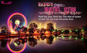 Carnival Happy Madi Gras Wishes Card Picture Carnival Saturday ...