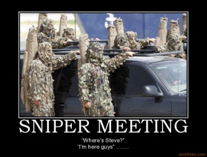 Snipers Anonymous??