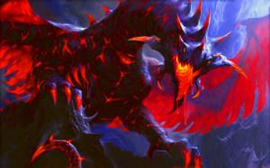 Red Fire Dragon HD Wallpaper #4288