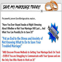 Product Reviewed: Save My Marriage Today