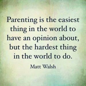 Parenting - Matt Walsh