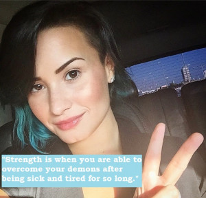 Demi Lovato Quotes About Strength Demi lovato eating disorder