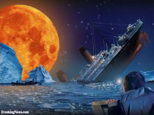 Funny Titanic moon