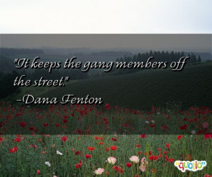 Gang Quotes