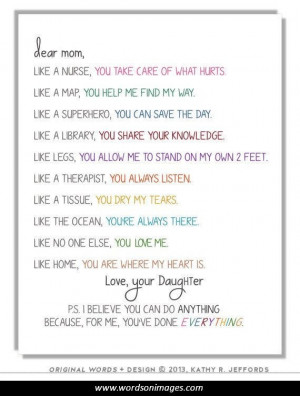 Sweet mothers day quotes