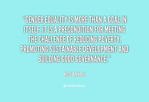Gender Equality Famous Quotes