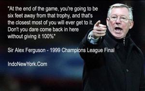 Sir Alex Ferguson best quotes