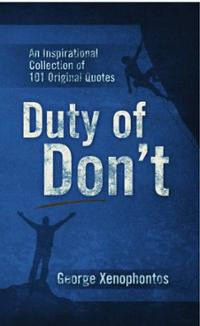 ... Don't: An Inspirational Collection of 101 Original Quote... Cover Art