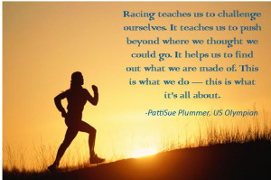 Running Racing Quotes A fellow running friend once