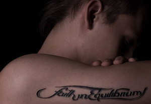faith tattoo designs. faith in equilibrium Get