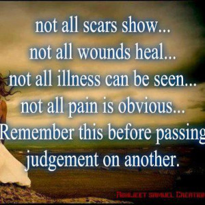 Remember This Before Passing Judgement On Another: Quote About ...
