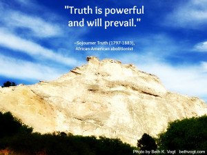 truth is powerful and will prevail click to tweet
