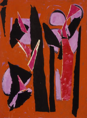 Lee Krasner Collage Lee krasner estate/artists