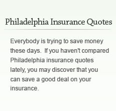 these days. If you haven't compared Philadelphia insurance quotes ...
