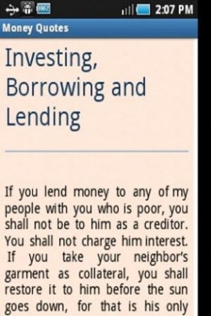 how to make money loaning money